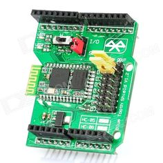 Bluetooth Shield Expansion Board for Arduino (Works with Official Arduino Boards). Model N/A Quantity 1 Color Green Material Features Bluetooth shield Application Arduino DIY part Packing List 1 x Expansion board. Arduino Bluetooth, Arduino Board, Electrical Tools, Health And Safety, The Expanse, Boards, Packing, Boutique, Tags