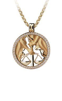 Magerit - Zodiac Collection: Necklace Big Libra