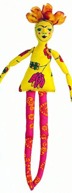Frida Doll lulumoonart.wordpress.com