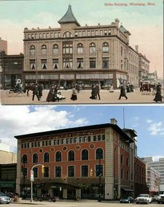 Birks building,  Portage ave Past, Louvre, Canada, Memories, History, City, Building, Places, Travel