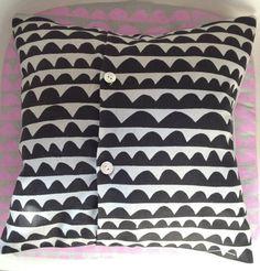 hello ollie cushion by Mabelandbird