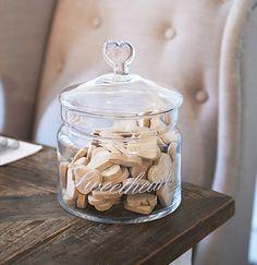 Sweethearts Storage Jar RM Rivera Maison, Beach Cottage Style, Dining Table Chairs, French Riviera, Jar Storage, Home Decor Inspiration, Just Desserts, Neutral Colors, Interior And Exterior