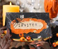 Groan Ups Halloween Party Invite