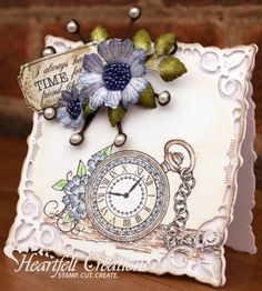 Heartfelt Creations | Lavender Pocket Watch