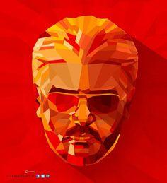 "Happy Birthday Actor ""Ajith Kumar"". #ajith #thala #tamil #cinema #movie #cubism #longshadow #art #sivadigitalart"