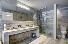 carrelage-sol-salle-bain-imitation-bois-massif-carrelage