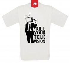 Television Head Unisex Crew Neck T-Shirt