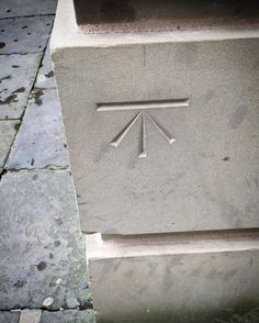This is a marking on a church in my city. It's very very important and relevant to the plot of Drowned Tomb so I had to seek it out and snap it today. Bonus points for anyone who knows what it means. #church #symbols #city #stanneschurch #urban #writing #writingfantasy #plothook by skybisonseamus