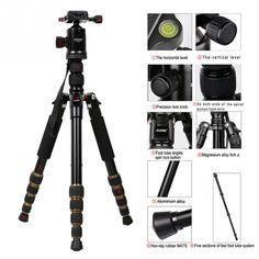 >> Click to Buy << Zomei Professional Camera Tripods Z699C Portable Travel Alloy Tripod to Monopod Ball Head for Digital Camera Universal #Affiliate