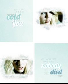 Cold As You <3