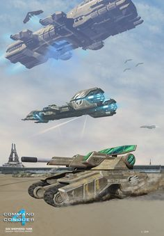 This particular Wolverine was spotted on Al-Shay when the platoon was attached to Delta Company. They assisted the tank Company in providing infantrymen for raids, as well as security. Dark Fantasy Art, Sci Fi Fantasy, Command And Conquer, Sci Fi Ships, Game Concept Art, Battle Tank, Armored Vehicles, Sci Fi Art, New Adventures