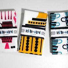 Tea towels by Polkka Jam