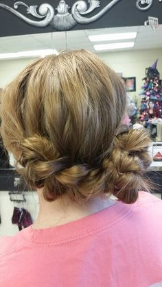 partial updo wedding. laurie