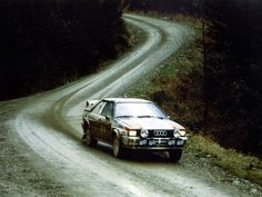 Group 4 Audi Quattro in action