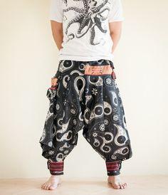 Samurai Warrior Tribal Harem Ninja Pants Hmong by AmazingThaiStore