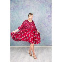 Romance Midi Dress Boho Midi Dress, Cute Dresses, Kimono, Romance, Sleeves, Red, How To Wear, Fashion, Pretty Dresses