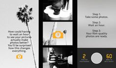Fun 1-Hour Photo App Makes You Wait for Your iPhone Snaps to 'Develop'