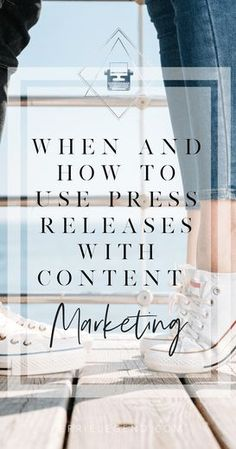 When and How to Use Press Releases with Content Marketing - Kerrie Legend