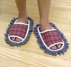 Pantuflas limpia pisos! 4 my cleaning