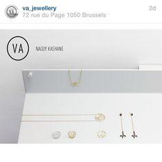 """#regram available @va_jewellery !!! #naguykashanejewelry #gold #18k #earring #necklace #pendant #bracelet #diamonds #cufflinks #customised #handmade #unique #creation #youruniquejewel #precious See you soon @va_jewellery"