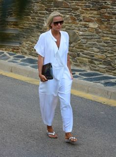 Marc Jacobs White Relaxed Women's Jumpsuit