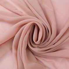 Mauve Solid Hi-Multi Chiffon Fabric by the Yard, Chiffon Fabric, Wedding Chiffon, Lightweight Chiffon Fabric - Style 500