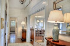 Gorgeous foyer in this Sea Island, GA home designed by Mary-Bryan Peyer {Design Chic}