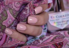 Anna Galaxy: El Corazon Active Bio-gel Color gel polish Лак для ногтей Cream № 423/289