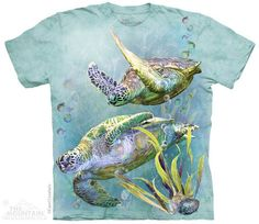 Sea Turtles Swim T-Shirt
