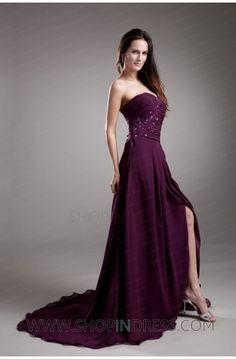 purple dress #purple #dresses #chiffon #lovely