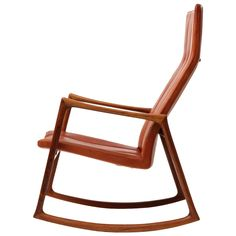 Rocking Chair by Helge Vestergaard-Jensen | See more antique and modern Rocking Chairs at http://www.1stdibs.com/furniture/seating/rocking-chairs