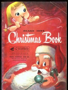 Image detail for -1954 SEARS CHRISTMAS BOOK CATALOG GREAT CONTENTS used, new for ...