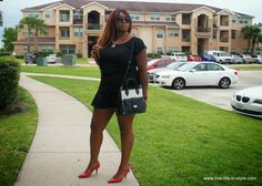 WHAT I WORE: BLACK IS SLIMMING - Live Life in Style - Houston Fashion Blogger