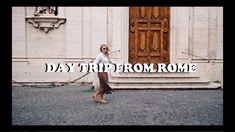 BEAUTIFUL DAY TRIP FROM ROME | WWW.ANDREACLARE.CA