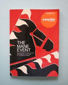 DEM Easyjet Traveller Magazine Illustration