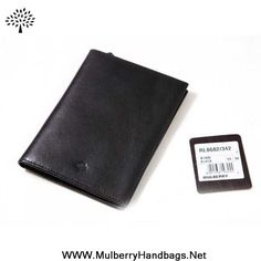 Mulberry Mens Wallet Black Outlet Canada