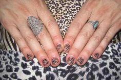 easy leopard nail art designs 2016