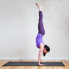 Pin for Later: Want to Do a Handstand? 8 Moves to Get You There Handstand