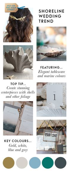 The sand between your toes, the refreshing breeze, the tranquil atmosphere... who's dreaming of a coastal wedding? From beautiful invites in neutral colours to unique nautical vases for the top table, these coastal wedding ideas and coastal wedding decor will bring the essence of the seaside to your wedding day.