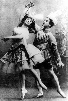 Vaslav Nijinsky & Anna Pavlova