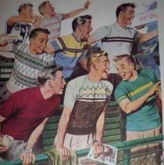 1940s Men's Sport Shirts
