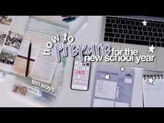 How To Prepare for the New School Year ☆ Back To School Tips thank you for watching this video new video every other day!☆ ____ watch all my other BTS videos. Back To School Hacks, School Tips, School Stuff, The New School, New School Year, Study Inspiration, Bts Video, Video New, Study Tips