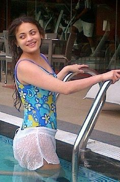 Sneha Ullal Real Life bikini photo