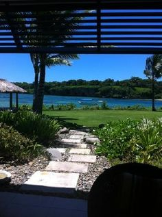 InterContinental Fiji Golf Resort & Spa: view from the beachfront room