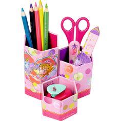 Zusammenklappbarer Stifteköcher von Prinzessin Lillifee.
