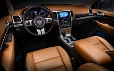 2015 jeep grand cherokee - Google Search love this interior
