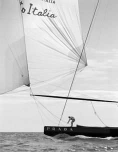 Prada sailboat.