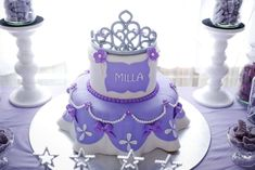 Milla's Sophia the First Birthday Party | CatchMyParty.com