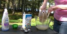 She Mixture Soap, Vinegar And Salt . Pot Plante, Vinegar, Planters, Genre, Soigne, Ainsi, Dessert, Gardens, Soap