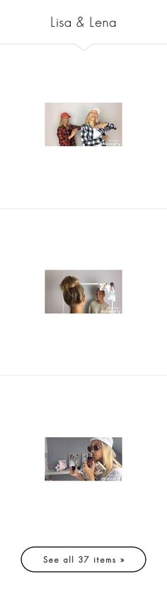 """""""Lisa & Lena"""" by dreamc-atchers ❤ liked on Polyvore"""